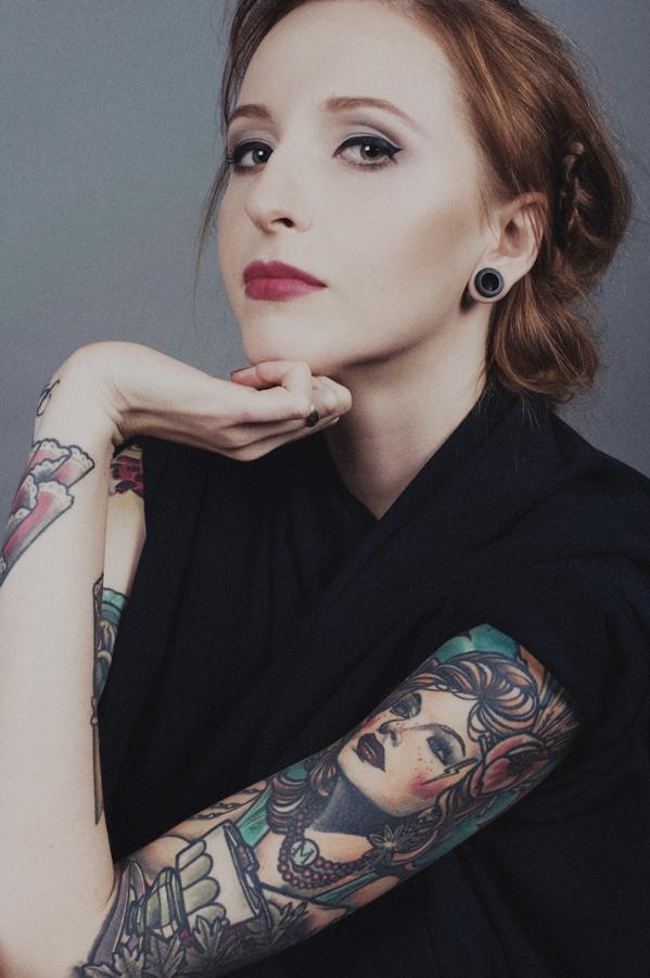 Czaszka i Sztylet tattoo artist (9)